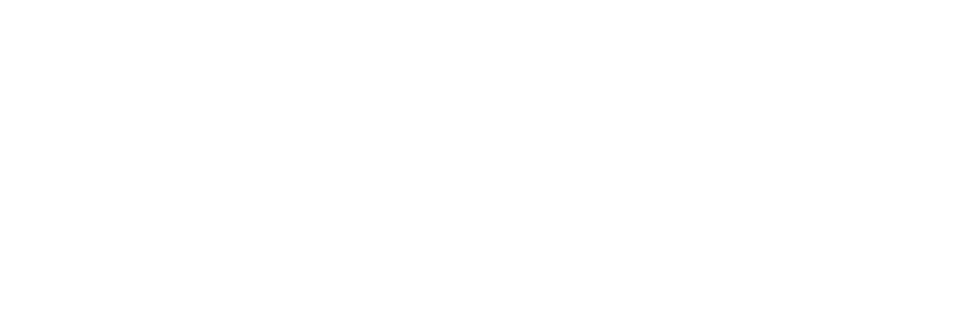 Black and white logo Living by Traveling